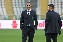 October 5, 2017 - Turin, Piedmont, Italy - Leonardo Bonucci (Italy)  during the media day on the eve of the FIFA World Cup European Qualifying match between Italy and FYR Macedonia at Olympic Grande Torino Stadium on 5 October, 2017 in Turin, Italy. (Credit Image: © Massimiliano Ferraro/NurPhoto via ZUMA Press)