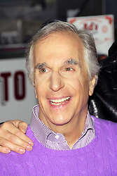 ©  London News Pictures. Henry Winkler (Creative consultant and original Fonz).  Happy Days: A New Musical - photocall, Ed's Easy Diner, London UK, 08 January 2014, Photo credit: Richard Goldschmidt/LNP