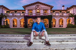 Billionaire Mike Fernandez, chairman of MBF Healthcare, at his Coral Gables estate.