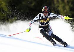 MATT Mario of Austria competes during Men's Slalom - Pokal Vitranc 2014 of FIS Alpine Ski World Cup 2013/2014, on March 9, 2014 in Vitranc, Kranjska Gora, Slovenia. Photo by Matic Klansek Velej / Sportida