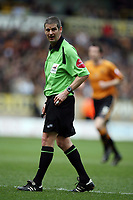 Photo: Rich Eaton.<br /> <br /> Wolverhampton Wanderers v West Bromwich Albion. Coca Cola Championship. 11/03/2007. referee Andy D'Urso