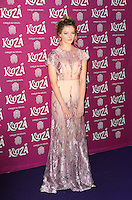 Dakota Blue Richards, Cirque du Soleil: Kooza - press night, Royal Albert Hall, London UK, 06 January 2015, Photo by Richard Goldschmidt