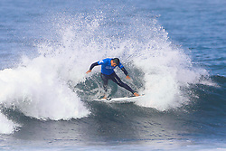 Miguel Pupo of Brazil advances to Round Three of the 2017 Hurley Pro Trestles after defeating Michel Bourez of Tahiti in Heat 6 of Round Two at Huntington Beach, CA, USA.