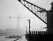 Gangway of Floating Dock, Swan Hunter & Wigham Richardson Shipyard, England, 1928