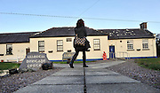 31-1-2013: There was no sign of life at Valentia Island Garda Station on Thursday and all furniture and belongings had already been removed..Picture by Don MacMonagle