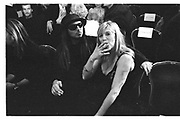Steve Meisel and Marianne Faithful at New York fashion week, 1995© Copyright Photograph by Dafydd Jones 66 Stockwell Park Rd. London SW9 0DA Tel 020 7733 0108 www.dafjones.com