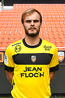 Maxime Pattier during photoshooting of FC Lorient for new season 2017/2018 on September 12, 2017 in Lorient, France. (Photo by Philippe Le Brech/Icon Sport)