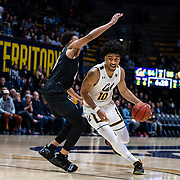 Jan 24  2019 Berkeley, CA  U.S.A.  California forward Justice Sueing (10) drives to the basket during the NCAA Men's Basketball game between Colorado Buffaloes and the California Golden Bears 59-68 lost at Hass Pavilion Berkeley Calif.  Thurman James / CSM