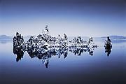 Monochrome reflections, Mono Lake, California, USA
