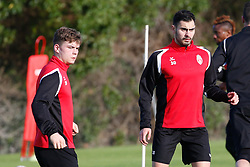 January 6, 2018 - Cadiz, SPAIN - Mouscron's Noam Debaisieux and Mouscron's Benjamin Van Durmen pictured during the first day of the winter training camp of Belgian first division soccer team Royal Excel Mouscron, in Cadiz, Spain, Saturday 06 January 2018. BELGA PHOTO BRUNO FAHY (Credit Image: © Bruno Fahy/Belga via ZUMA Press)