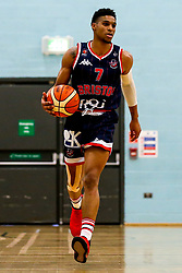 Justin Gray of Bristol Flyers - Photo mandatory by-line: Robbie Stephenson/JMP - 10/04/2019 - BASKETBALL - UEL Sports Dock - London, England - London Lions v Bristol Flyers - British Basketball League Championship