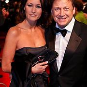 NLD/Amsterdam/20081208 - Premiere Wit Licht, Armando Borsato en partner Vanessa