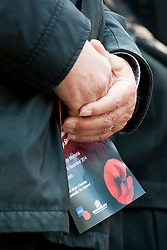 Remembrance Sunday Barnsley Marks the Centenary of the out break of World War I<br /> <br /> 09 November 2014<br /> <br /> Image © Paul David Drabble <br /> <br /> www.pauldaviddrabble.co.uk