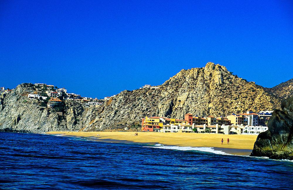 Playa Solmar (beach) on the Pacific ocean side of Cabo San Lucas, Los Cabos, Baja California, Mexico