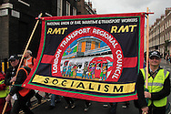 Trade Union march against the Government's Comprehensive Spending review