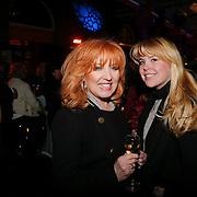 NLD/Rotterdam/20130302- Rotterdam Best 2013, Yvonne Keeley en dochter Roxanne Paay