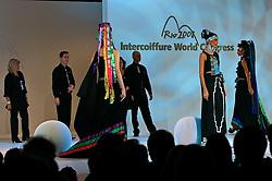 """Show """"Arauco"""", apresentado pela Intercoiffure Chile durante o 20 Congresso Mundial da Intercoiffure - ICD Rio 2008, que acontece de 18 a 20 de maio, no hotel Intercontinental, no Rio de Janeiro . FOTO: Jefferson Bernardes / Preview.com"""