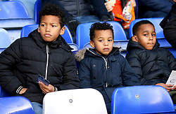 Birmingham City fans in the stands before the match at St Andrew's Trillion Trophy Stadium