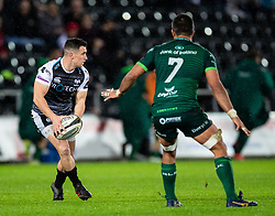 Matthew Aubrey of Ospreys<br /> <br /> Photographer Simon King/Replay Images<br /> <br /> Guinness PRO14 Round 6 - Ospreys v Connacht - Saturday 2nd November 2019 - Liberty Stadium - Swansea<br /> <br /> World Copyright © Replay Images . All rights reserved. info@replayimages.co.uk - http://replayimages.co.uk