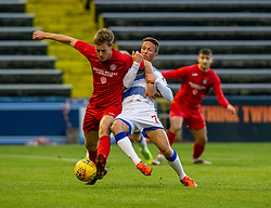 Morton's Chris Millar and Brora Rangers Martin MacLean. Morton 1 v 1 Brora Rangers, 3rd Round of the Scottish Cup played 23/11/2019 at Cappielow, Greenock.