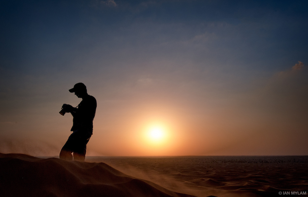 Photographer, Arabian Desert - U.A.E.