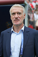 France head coach Didier Deschamps during the 2018 FIFA World Cup Russia, Group C football match between Denmark and France on June 26, 2018 at Luzhniki Stadium in Moscow, Russia - Photo Thiago Bernardes / FramePhoto / ProSportsImages / DPPI