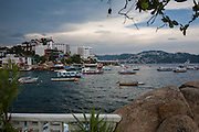 ACAPULCO, MEXICO - AUGUST 5, 2015: View of Acapulco bay. Rodrigo Cruz for The New York Times