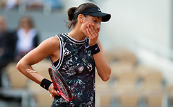 May 30, 2019 - Paris, FRANCE - Caroline Garcia of France in action during her second-round match at the 2019 Roland Garros Grand Slam tennis tournament (Credit Image: © AFP7 via ZUMA Wire)