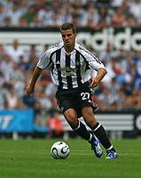 Photo: Andrew Unwin.<br />Newcastle United v PSV Eindhoven. Pre Season Friendly. 29/07/2006.<br />Newcastle's Steven Taylor.