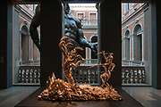"""Venice, Italy. An installation of the new exhibition of Damien Hirst """"Treasures from the wreck of the unbelievable"""". © Simone Padovani"""