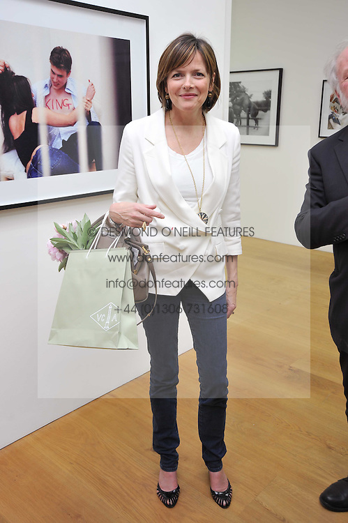The COUNTESS OF WOOLTON at a private view of Alison Jackson's photographs 'Up The Aisle' held at the Ben Brown gallery 12 Brook's Mews, London W1 on 19th April 2011.