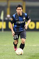 "Yuto Nagatomo Inter.Milano 14/02/2013 Stadio ""San Siro"".Football Calcio UEFA Europa League 2012/13.Inter v Cluj.Foto Insidefoto Paolo Nucci."