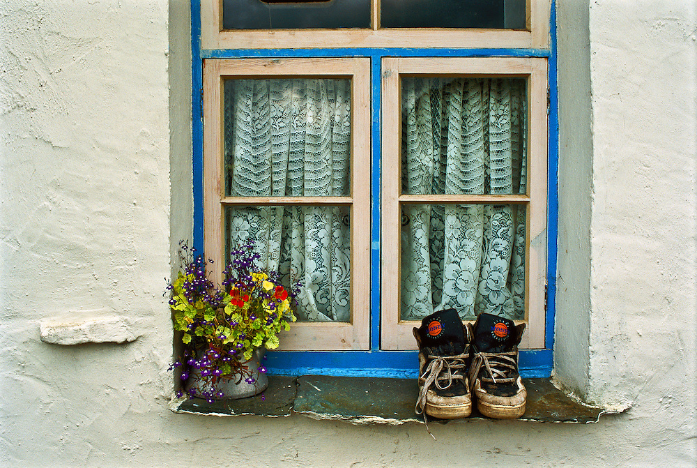 A window in Great Britain.