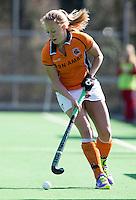 AMSTELVEEN - HOCKEY  -Jill Boon van OZ tijdens de hoofdklasse hockeywedstrijd tussen de vrouwen van Hurley en Oranje-Zwart.  COPYRIGHT KOEN SUYK