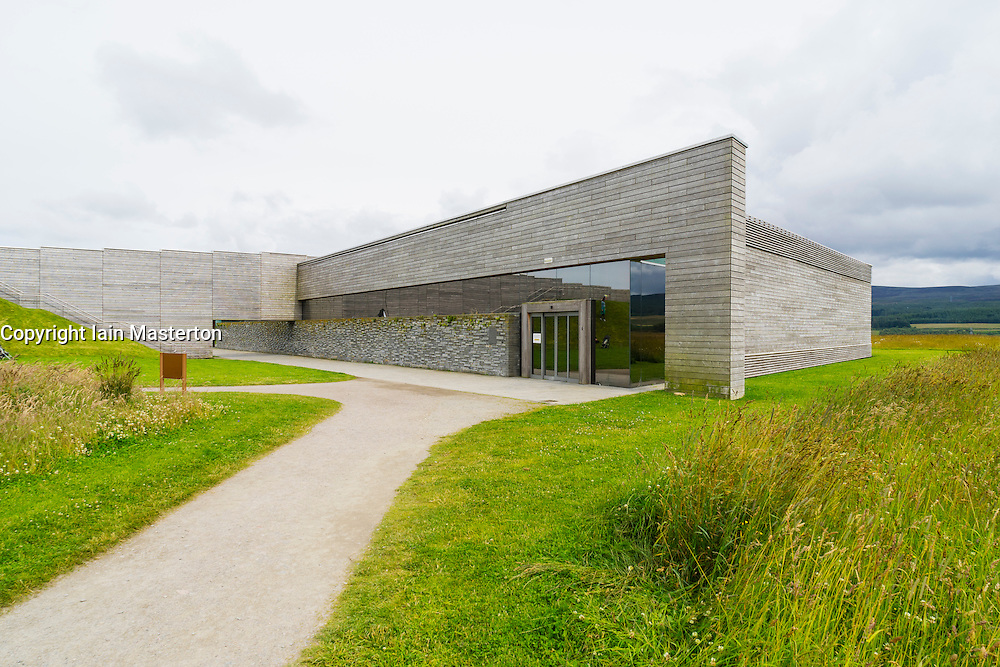 National Trust for Scotland Visitor Centre at Culloden Moor in Scotland.