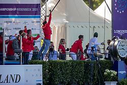 Team Switzerland<br /> European Championship Riesenbeck 2021<br /> © Hippo Foto - Dirk Caremans<br />  03/09/2021