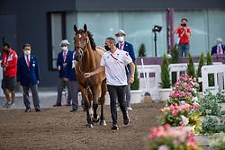 Bisharat Ibrahim, JOR, Blushing, 356<br /> Olympic Games Tokyo 2021<br /> © Hippo Foto - Dirk Caremans<br /> 31/07/2021