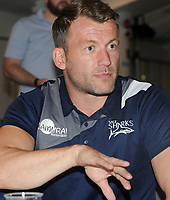 Rugby Union - 2017 / 2018 Aviva Premiership - New Season Launch Photocall<br /> <br /> Sale Sharks Director of Rugby, Mark Cueto at Twickenham.<br /> <br /> COLORSPORT/ANDREW COWIE