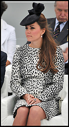 Duchess of Cambridge attends the Ship Naming Ceremony of the Royal Princess, Southampton,<br /> Thursday, 13th June 2013<br /> Picture by Andrew Parsons / i-Images