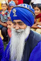 Inde, état du Pendjab, Anandpur Sahib, fete de Hola Mohalla, fête sikh // India, Punjab, Anandpur Sahib, Hola Mohalla festival of Sikh comunity