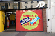 JD shop January sale, Ipswich