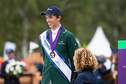 Individual Podium, Daniels Cathal, IRL, Bonze medal<br /> European Championship Eventing<br /> Luhmuhlen 2019<br /> © Hippo Foto - Dirk Caremans