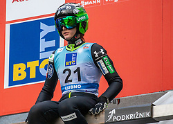 Katra Komar of Slovenia during Day 3 of World Cup Ski Jumping Ladies Ljubno 2019, on February 10, 2019 in Ljubno ob Savinji, Slovenia. Photo by Matic Ritonja / Sportida