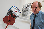 The Royal Academy of Arts' 248th Summer Exhibition is coordinated by the renowned British sculptor and Royal Academician Richard Wilson (pictured with his own work).