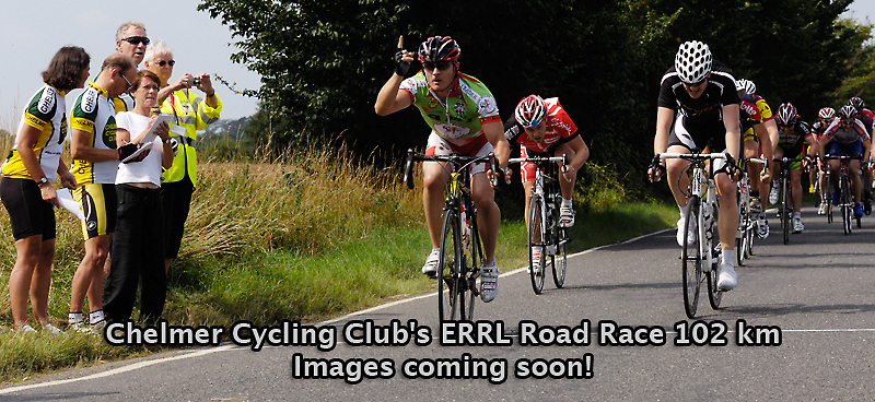 UK, Chelmsford, 8 August 2009: Images from Chelmer Cycling Club's ERRL Road Race 102 km. Regional A event for cat 2, 3, 4 and junior. Photo by Peter Horrell / http://peterhorrell.com...
