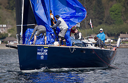 Lights winds dominated the Pelle P Kip Regatta  at Kip Marine weekend of 12/13th May 2018<br /> <br /> Jonathan Anderson's El Gran Senor, Class 1<br /> <br /> Images: Marc Turner