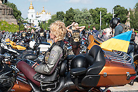 Слет Киевского отделения клуба Harley-Davidson.
