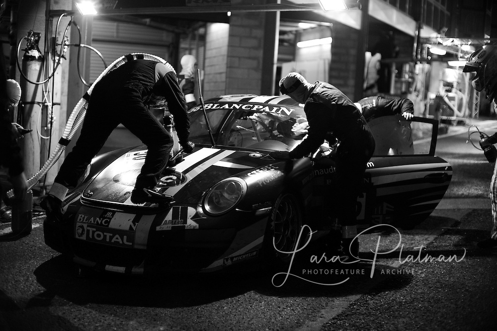 Spa 24 Hours 2011 through the night