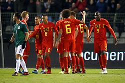November 10, 2017 - Bruxelles, Belgique - team of Belgium celebrates (Credit Image: © Panoramic via ZUMA Press)