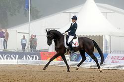 Hofmann Melanie (SUI) - Delioh von Buchmatt<br /> FEI World Dressage Championships for Young Horses<br /> Internationales Dressur- und Springfestival - Verden 2014<br /> © Dirk Caremans